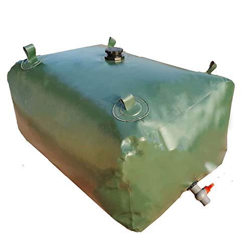 Gardening tools Wasserspeicher mit großer Kapazität, Flexibler Wasserspeicher mit EIN-Aus-Ventil, Faltbarer und langlebiger Leichtwassertank Garteneimer Regenwassersammler