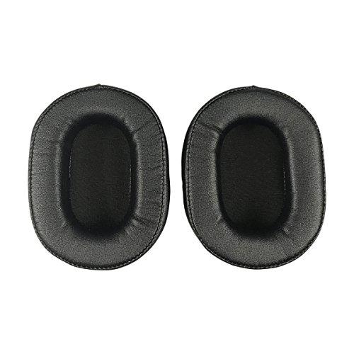Original Ersatz Ohrpolster Kissen für Audio-Technica ATH-M50M50x M50S M50RD ath-m40X-M30X-X hp-ep M-Serie Kopfhörer–2Stück (1Paar)