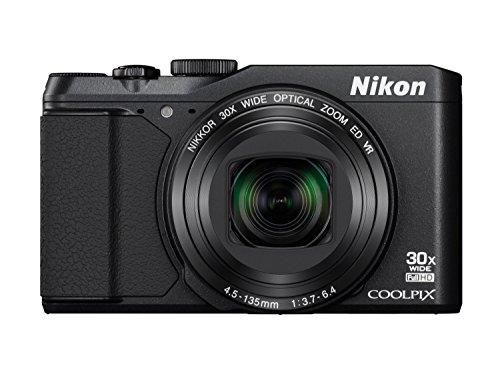Nikon Coolpix S9900 Digitalkamera (16 Megapixel, 30-Fach Opt. Zoom, 7,6 cm (3 Zoll) LCD-Display, USB 2.0, bildstabilisiert) schwarz