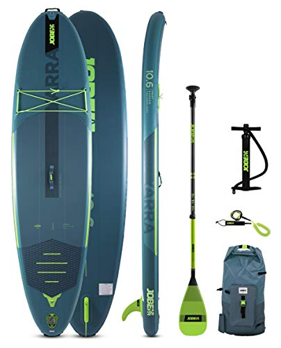 Jobe Yarra 10.6 Aero Inflatable Paddle Board Sup Package 2021 - Teal