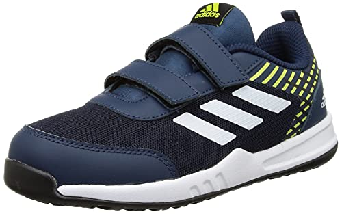 Adidas Kid's LIT-UP 1.0 K Running Shoe,Blue, 11K UK