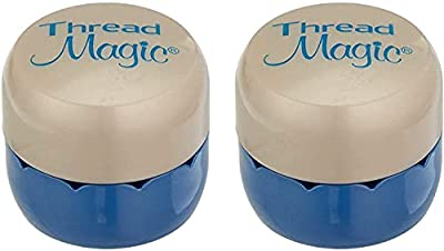 ghi Magic Thread Round (Blue-Ivory, 2-Pack)