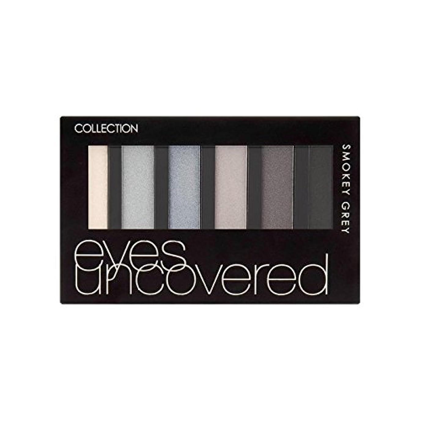 Collection Eyes Uncovered Palette Smokey Grey 6G - コレクションの目はパレットスモーキーグレー6グラムを発見します [並行輸入品]