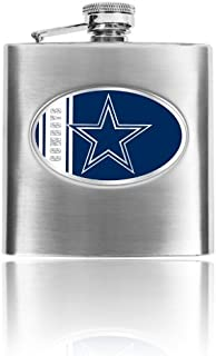 nfl flasks engraved