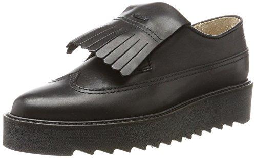 Marc O'Polo Damen Lace Up Shoe 70814243402125 Slipper, Schwarz (Black), 38 EU