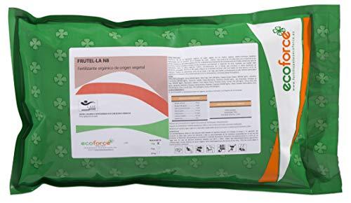 CULTIVERS Abono - Fertilizante Ecológico para Césped de 1,5 kg, granulado con NPK 8-1-5+74% M.O. y Ác. Húmicos. Liberación Lenta. Potencia el Crecimiento. FRUTELLA