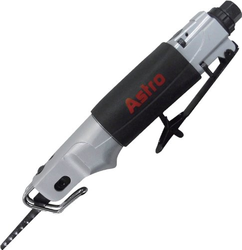 Astro Pneumatic Tool 930 Air Body Saber Saw with 5pc 24 Teeth per Inch Saw Blades