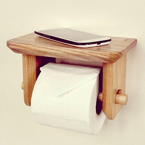 YAeele Papel higiénico Titular, Titular de Papel higiénico Creativo, Tejido Impermeable Box, Estante Titular de Papel higiénico