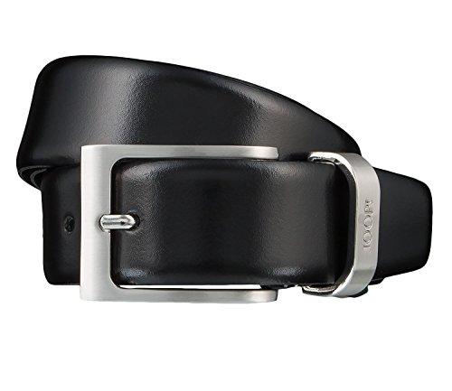 Joop! Gürtel Herrengürtel Ledergürtel Herrenledergürtel Schwarz 1066, Länge:85, Farbe:Schwarz