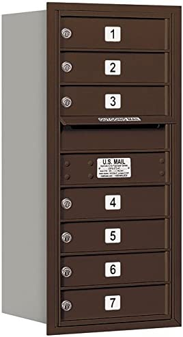 Salsbury Finally popular brand Industries 3709S-07ZRP Dealing full price reduction 4C Mailbox Bronze Horizontal