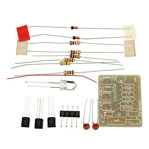 MING-MCZ Duradero 3-12V gsm señal del teléfono móvil de luz de Flash DIY Kit de circuitos electrónicos Formación Suite de 5 x Fácil de Montar