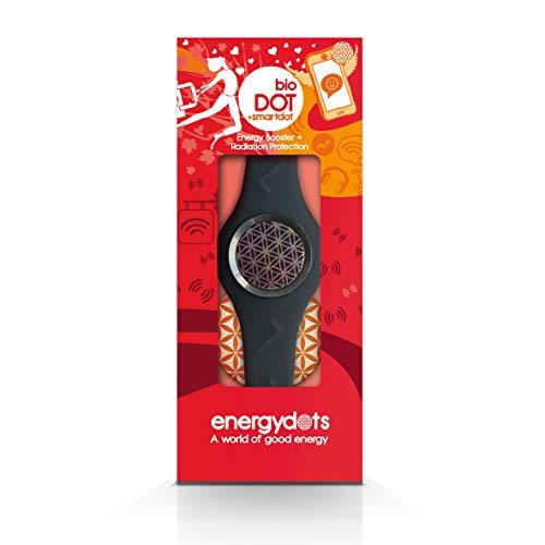 Energydots BBSG-L BioBAND, persoonlijke energiebescherming en versterker, extra effectieve EMF-bescherming voor mobiele telefoons, draadloze apparaten, PC's, kleingrijs