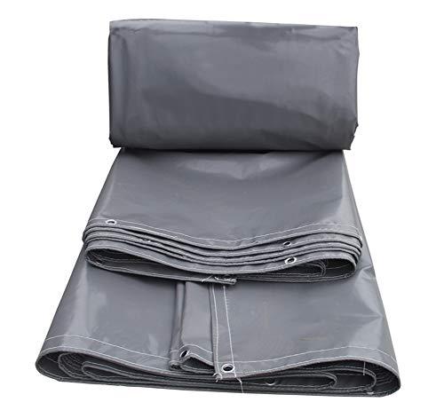 SJASD Lona de protección Impermeable para Exterior tejados y Obras Lona Resistente al Agua y a los Rayos UV Toldo Funda Protectora Malla geotextil Sun,5.8 * 4.8m