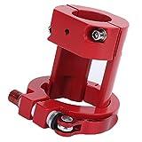 Abrazadera Plegable para Scooter Eléctrico, Aleación De Aluminio para Scooter Eléctrico, Varilla Vertical, Bloqueo Resistente, Confiable Y Duradero para Scooters Eléctricos M365 Pro(Rojo)