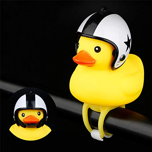 YCEOT Cartoon Eend LED-lamp koplamp Shining Duck fiets klokken stuur fietsaccessoires nachtlampje kinderen