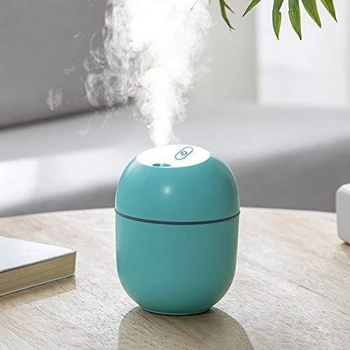 zhangxia Humidificador ultrasónico y difusor humificadores Desinfección USB humidificador Inicio silencioso Dormitorio de Gran Capacidad de sobremesa Difusor Aroma (Color : Green)