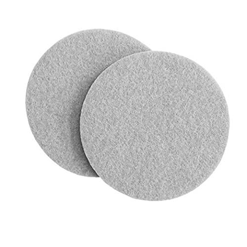 DierCosy Tools Tampons en Feutre pour Meubles, Tapis antidérapant Collant Tapis Rondes de mobilier de Meubles de Meubles en Feutre pour la Surface Dure Home Plancher Scratch Protecteur