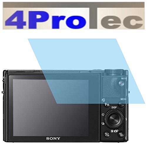 4ProTec I 2X Panzerfolie CC Displayschutzfolie Panzerschutzfolie für Sony Cyber-Shot DSC-RX100 V Bruchschutzfolie Bildschirmschutzfolie