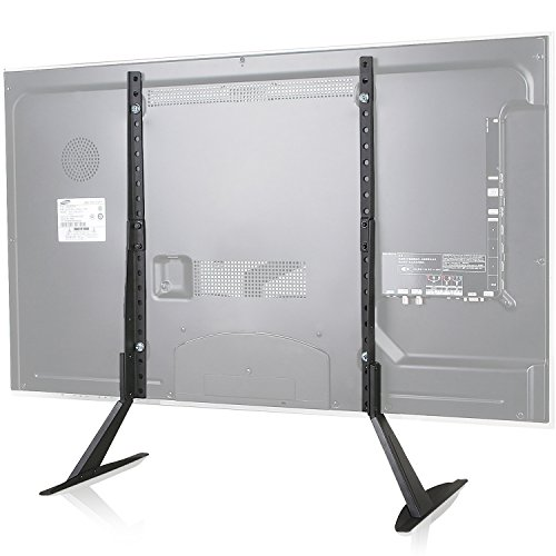 WALI Universal TV Stand Table Top for Most 22 to 65 inch LCD...