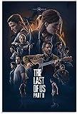 Lienzos De Fotos 30x50cm Sin Marco Póster del Juego The Last of Us Wall Art Picture Print Poster de decoración de Dormitorio Familiar Moderno