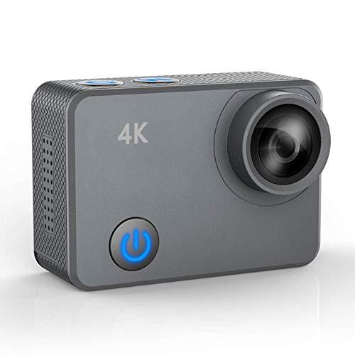JZWX Outdoor-Sport, waterdichte camera, zwemmen, fietshelm DV, draagbare beeldschermcamera, 4K-HD-video, luchtopnames