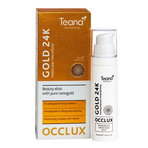 "Mascarilla hidratante de ORO Teana Laboratories - MICROFLUIDO MOLECULAR\""GOLD 24K\"""