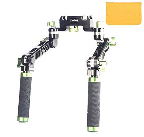 Gowe réglable Poignée grip universel V2 pour 15 mm Rail Rod DSLR vidéo Système de support Rig