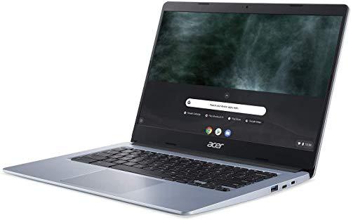 Acer Chromebook 314 Intel Celeron N4000 up to 2.6GHz 4GB RAM 64GB eMMC 14in LCD Web Cam Chrome OS Gigabit WiFi (Renewed)