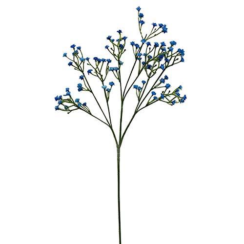 NBJ Nanbeiji 12 Stück künstliche Blumen Baby Breath Blumen Fake Gypsophila Pflanzen Blumensträuße für Hochzeit Zuhause DIY Dekoration (weiß)