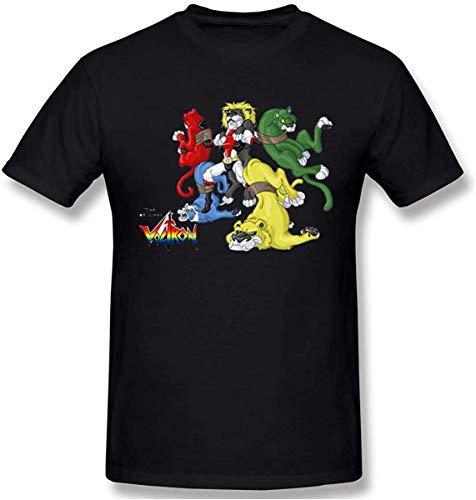 LYZBB Sportbekleidung Herren Kurzarmshirt, Men's The Original Voltron Graphic Design Short Sleeve T Shirts
