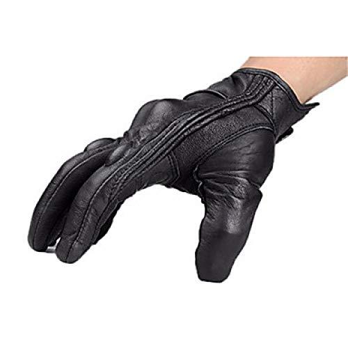 Man Screen Aanraakbare Motorhandschoenen Winter Riding Lederen Handschoenen Herfst en winter stijl zonder gaten