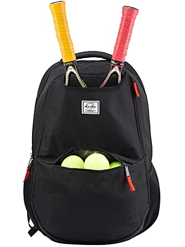 Tennis Bags for Women, Tennis Backpack Men Large Racquetball Pickleball Paddle Squash Bags with USB Charge Port