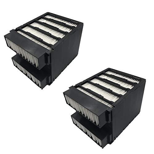 Nifogo Ersatzfilter, Air Cooler Filter Ersatz Mini Luftkühler Ventilator Klimageräte, Papierfilter Personal Space Cooler, Mobil Klimageräte Ersatzteile (schwarz)