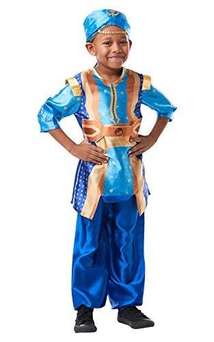 Rubies Disfraz oficial de Aladino de acción en vivo de Disney, Genie para niños