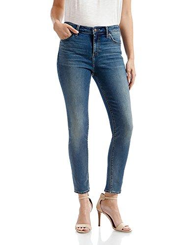 Lucky Brand Women's Mid Rise AvaSkinny Jean, Waterloo, 28W X 28L