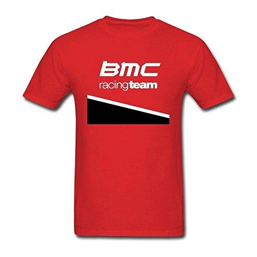 Sally Natalie Men's BMC Racing Team Short Sleeve T Shirt Red Medium