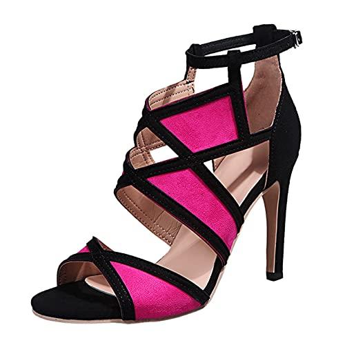 Sandalias mujer tacon fiesta de elegancia sexy moda Zapatos de tacón mujer...