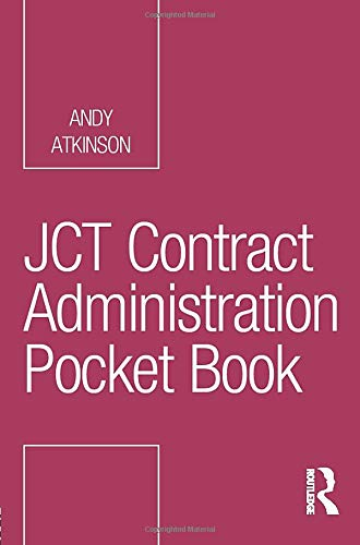 JCT Contract Administration Pocket Book (Routledge Pocket Books)
