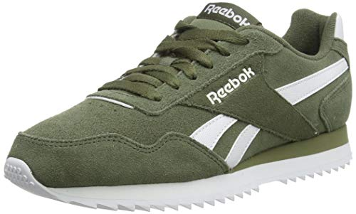 Reebok Royal Glide Rpl, Zapatillas de Running Hombre, Verde (Hunter Green/White 000), 43 EU