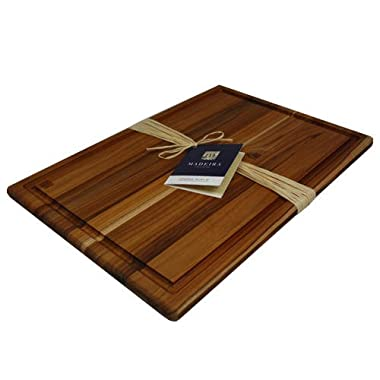 Madeira Provo Teak Edge-Grain Carving Board, Extra Large