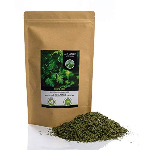 Liebstöckel (125g), Maggikraut, geschnitten, schonend getrocknet, 100% rein und naturbelassen zur Zubereitung von Gewürzmischungen
