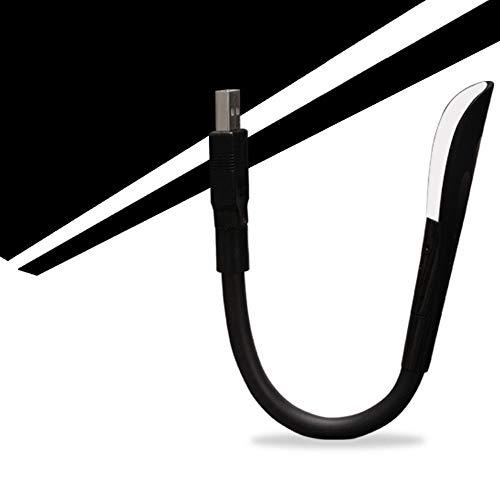 Lámpara de piso LED de atención oftálmica táctil regulable flexible USB de lectura de luz LED ajustable sólido Clip lámpara de escritorio del ordenador portátil for el dormitorio Estudio de iluminació