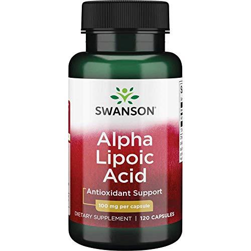 Swanson Alpha Lipoic Acid 100 Milligrams 120 Capsules