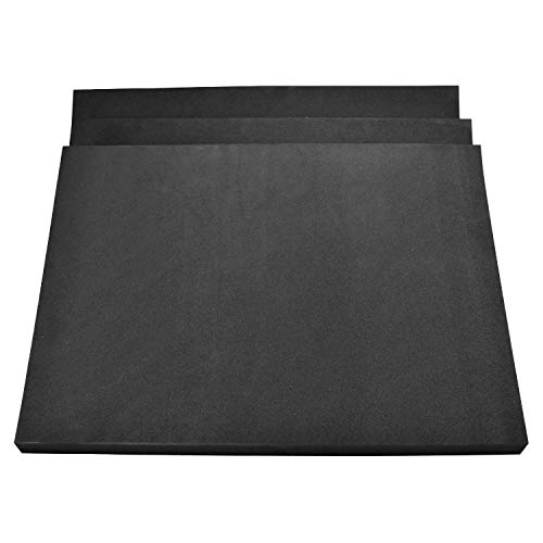 3 Pack of 27' x 20'x 1.5' Highly Versatile Upholstery Foam Cushion Insert, High Density Neoprene Rubber, Easy to Cut and Customize, Weather and Water Resistant, No More Sagging Couches, Made in USA