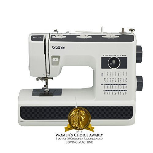 Brother Sewing Machine, ST371HD, Strong and Tough Sewing Machine, 37 Built-in Stitches, Heavyweight Needles, 6 Quick-Change Sewing Feet