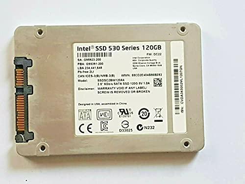 Disco duro interno de 120 GB SATA SSDSC2BW120A4 Intel SSD 530 Series 6 Gb/2,5'
