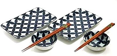 MySushiSet - Hearth Stone Sushi Set for Two