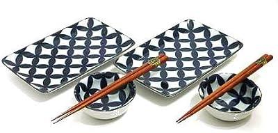 MySushiSet - Hearth Stone Sushi Set for Two
