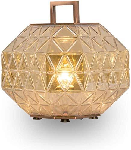 Nieuwe persoonlijkheid stijlvolle woonkamer hotel nachtkastje tentoonstelling hal diamant gesneden glas Cover tafellamp voor slaapkamers, woonkamers, bijzettafels
