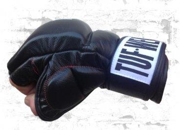 MMA Handschuhe aus Leder von Tuf Wear 7oz für das Training S/M